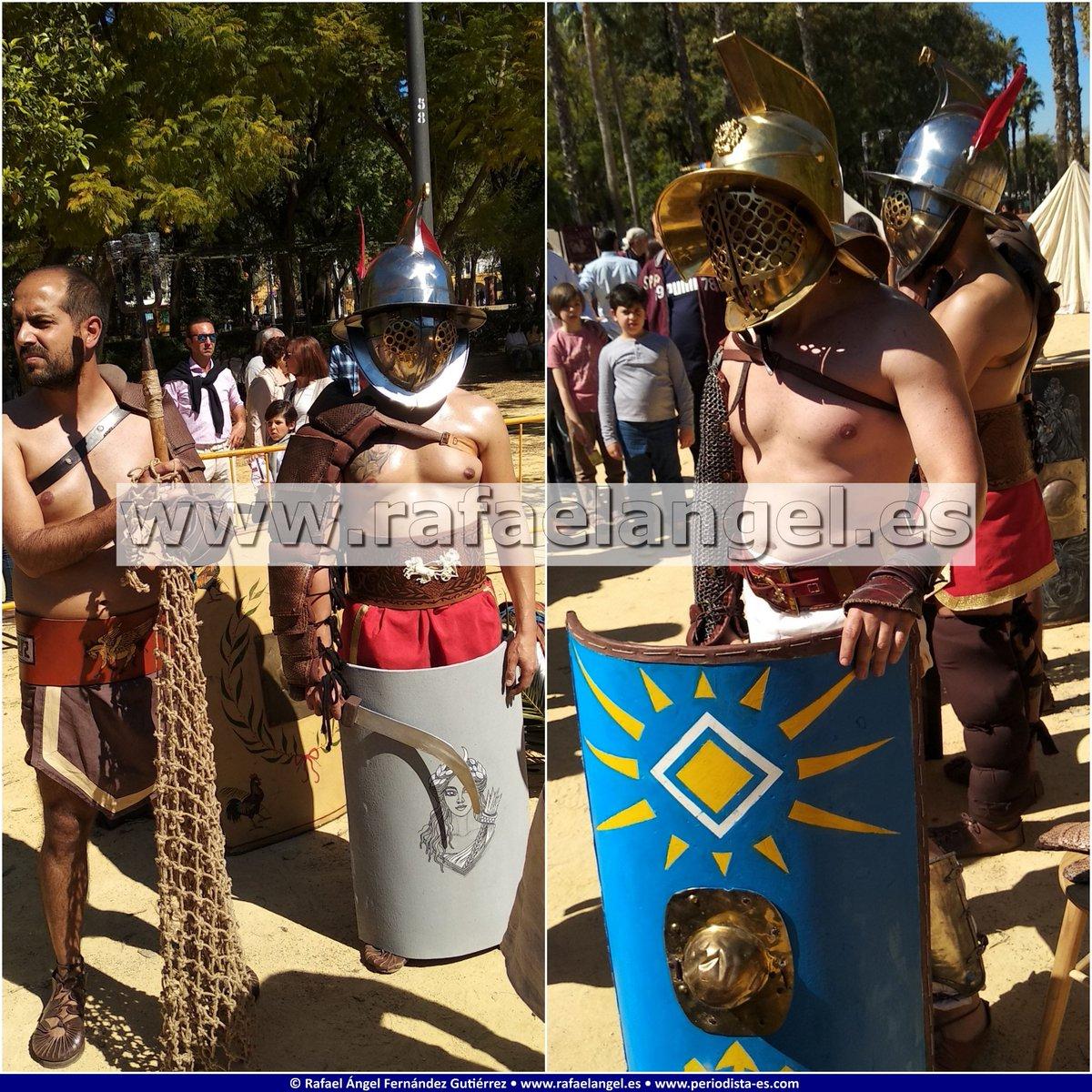 #Rome in #Seville MMXIX #RomeInSeville #RomeInSevilleMMXIX #RomanLegions #RomanSoldiers #Gladiators #Vestals #RomanCitizens #AncientRome #ClassicalRome #ImperialRome #RomanWorld @VlpiaAelia @HispaniaRomana @EgoFemina @Ayto_Sevilla http://bit.ly/romaensevillafb http://bit.ly/romaensevillafk