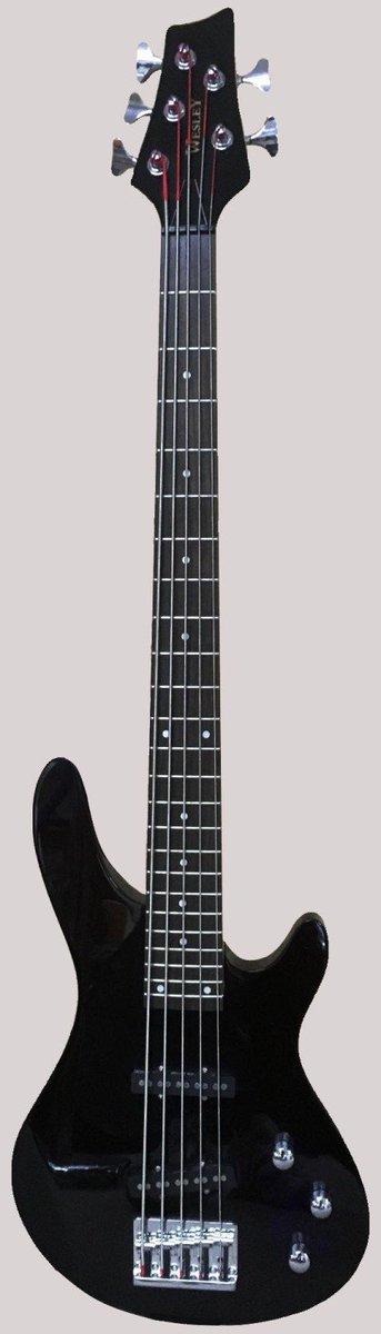 Wesley 5 string Bass Guitar at Ukulele Corner