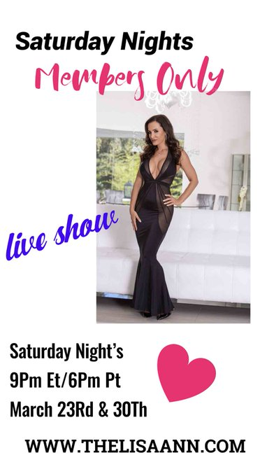 Spend your Saturday Nights with me on my site! Live 9pmET/6pmPT  https://t.co/rCw4DBtiz2 https://t.c