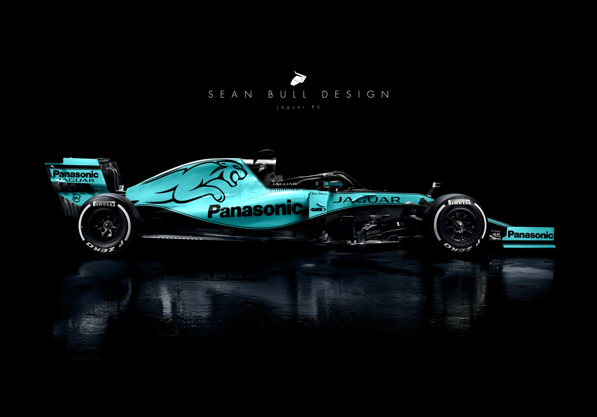 Sean Bull Design On Twitter Jaguar F1 Livery Concept Utilising The More Modern Colour Palette Seen In Formula E And E Pace Concepts F1 F12019 Formula1 Livery Jaguar Jaguarracing Https T Co 6t8zrk5yum