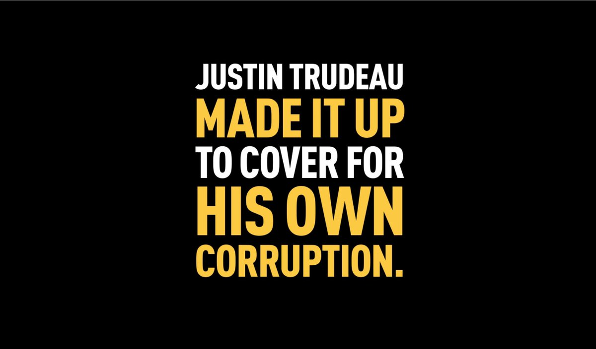JUSTIN TRUDEAU IS EXPOSED: His main excuse for politically interfering in a criminal prosecution is completely fabricated. He literally made it up! SNC-Lavalin never said any jobs were in danger. Justin Trudeau has been exposed as a fraud and must resign.