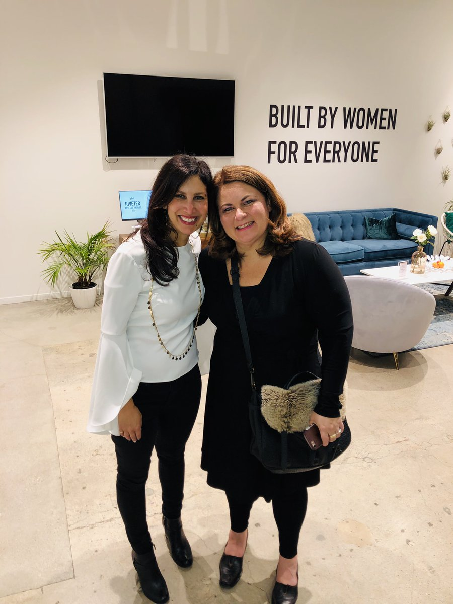 Thank you to @theriveterco in LA @amy_riveter for hosting SURGE our film about the record number of first-time female candidates who ran for office in 2018  and @janasanchez who is a total political badass  #surgethemovie #redtoblue #theriveter<br>http://pic.twitter.com/YRCJF6QTe3