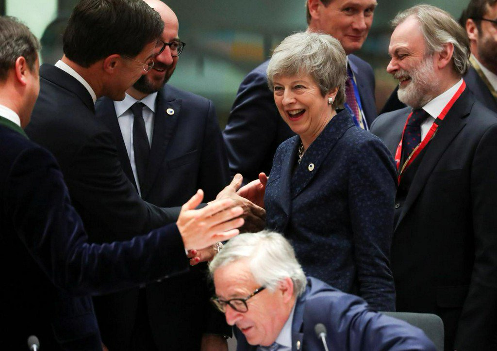 EU considers options for Brexit delay - May 7, year-end or open-ended, diplomats say https://reut.rs/2Jt3UkY