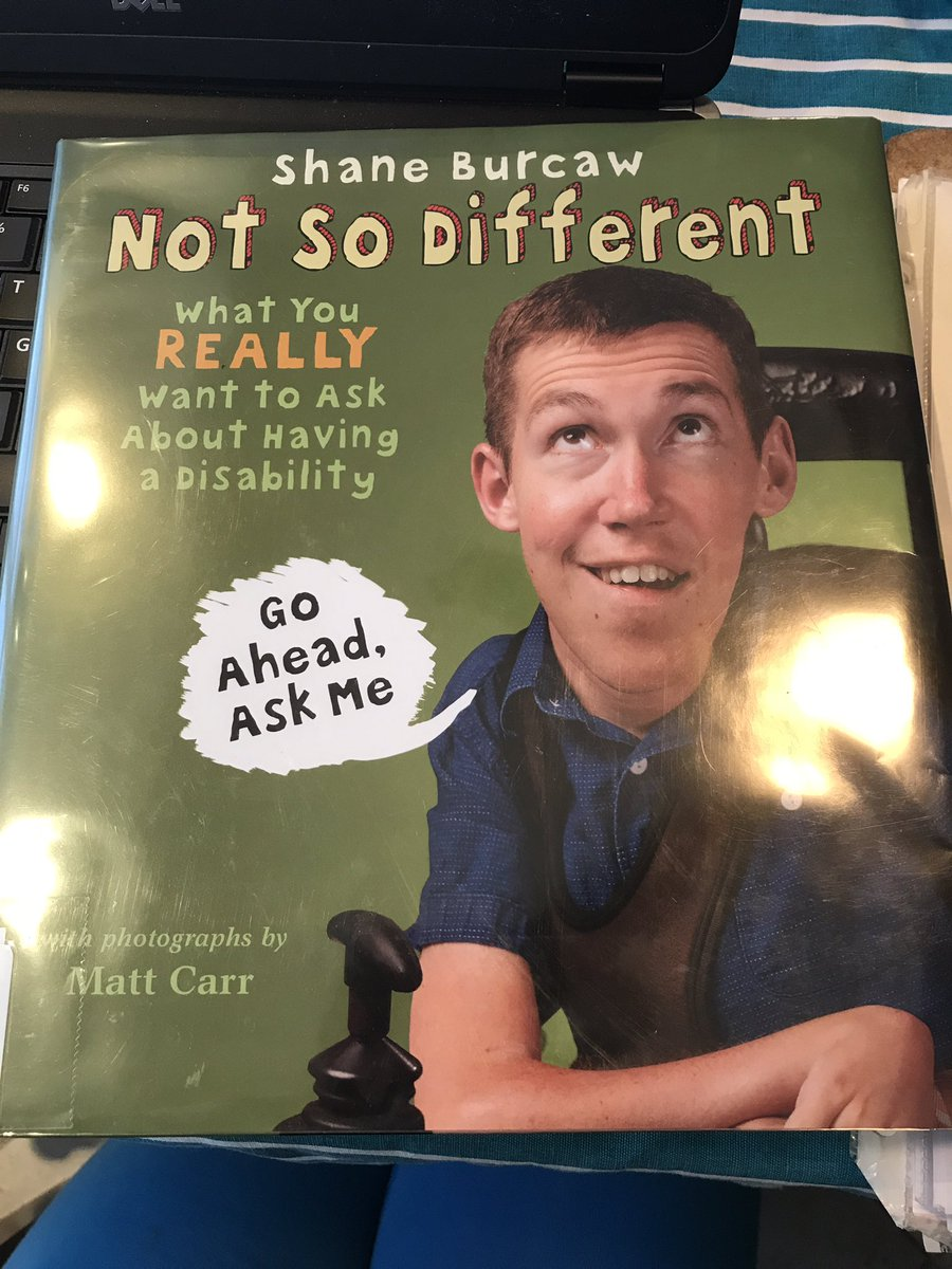 """Amazing book a @HighgatePS Ts shared w/ @RaniaWriting &amp; I this week as she embeds #disABILITY into Ss curriculum! Looking forward to celebrating April 2nd #watchusSOAR Don't """"Dis"""" MY ABILITY event! <br>http://pic.twitter.com/LIbYlQdRma"""