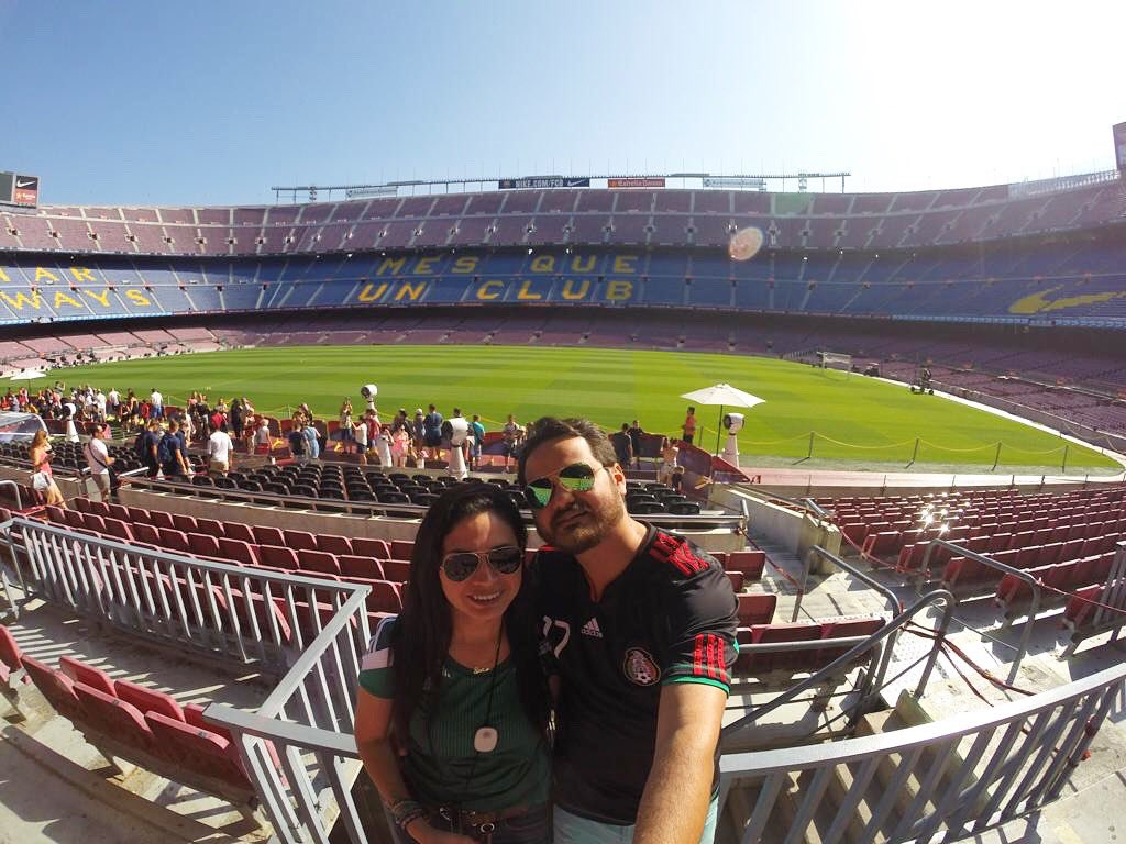#tbt🔙  Inaugurado en 1957 como el Estadio del Fútbol Club Barcelona #CampNou ⚽️
