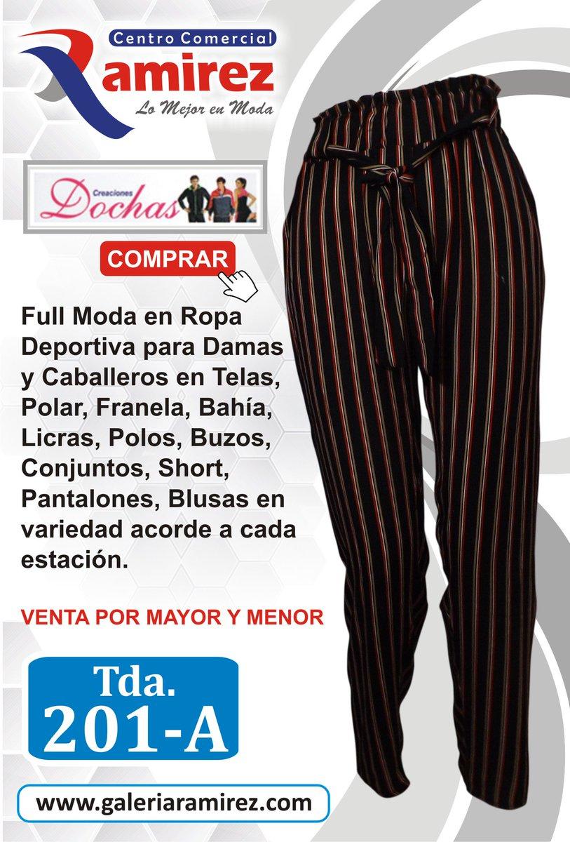 bad93c9710  DOCHAS pone a tu disposición  Full Moda en Ropa Deportiva para Damas y  Caballeros