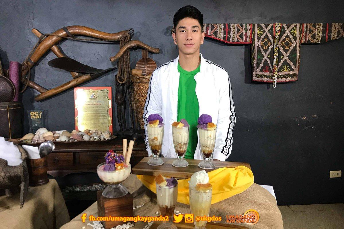 Tinakam na naman tayo ni @Hashtag_nikko13 sa mga halo-halo at banana con yelong tinikman n'ya diyan sa Quezon City! 🍨🍧😋