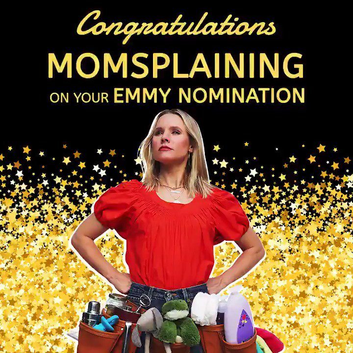 Image for the Tweet beginning: Congratulations, @IMKristenBell and everyone at