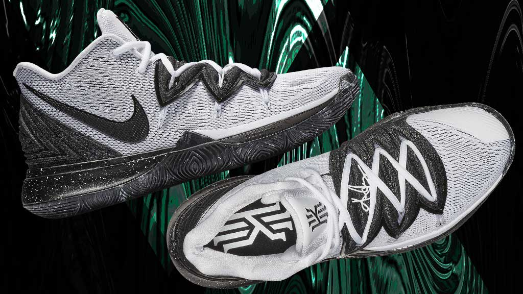 4cdd9ad5de3a black and white the newest nike kyrie 5 drops a simple classic colorway  arriving 3 22