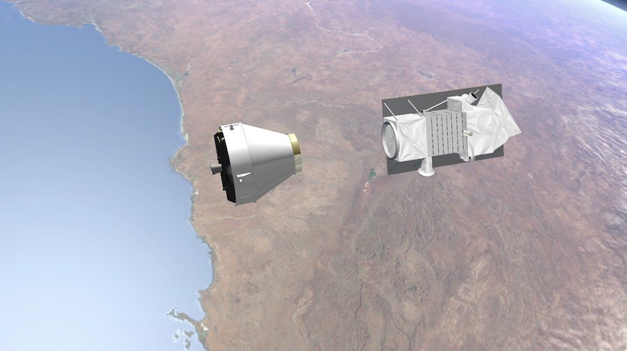 PRISMA separation confirmed. Italy's new Earth observation satellite is in orbit after a successful launch aboard a Vega rocket, beginning a five-year mission collecting environmental data. https://spaceflightnow.com/2019/03/21/vega-vv14-mission-status-center/…
