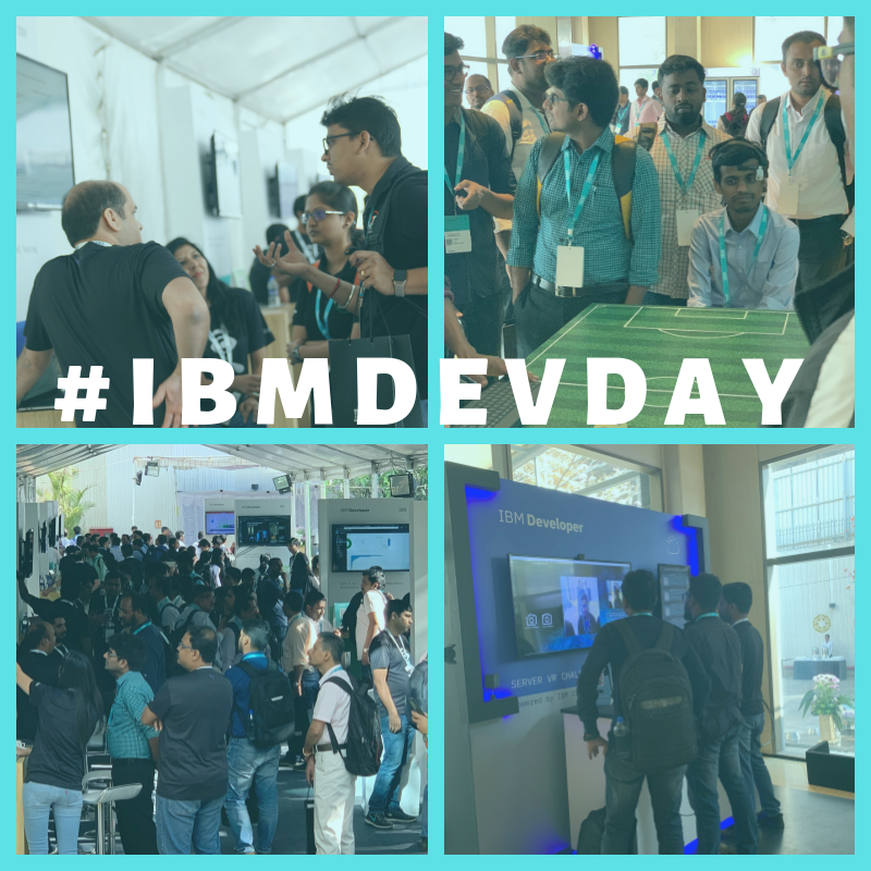 Developer Day, Bengaluru 2019 was a power packed event which had an exciting leadership keynote, amazing innovations and super cool experiences. Kudos to the team for a fab job. #GPJIndia #IBMDevDay #Innovations #DeveloperDay