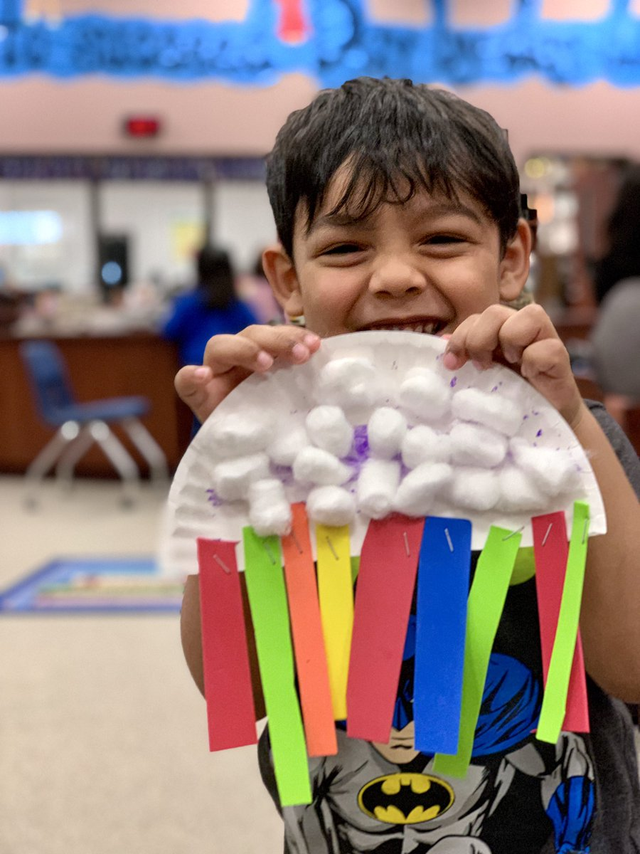 Look what our toddlers created to celebrate the first day of spring: rainbows! 🌈  #ToddlerTime #WeAreHicksElem #aliefmission