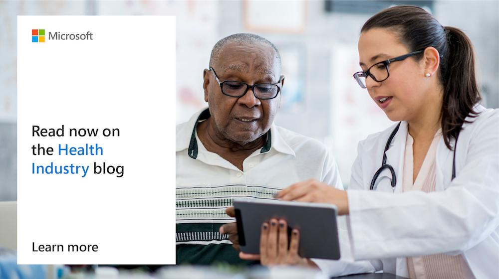 #HIMSS19 provided a glimpse into the future of healthcare. Take a deeper look and learn how new technology is helping us reimagine #healthcare: http://msft.social/9a2X4N