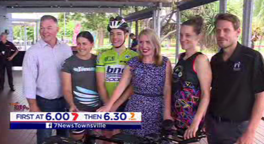 #TOWNSVILLE the city has been chosen to host the ITU Multisport World Championships in 2021. Local leaders say it will cement the city as the sport and events capital of Northern Australia. #7News @7NewsTownsville<br>http://pic.twitter.com/CjuHPKtwXk