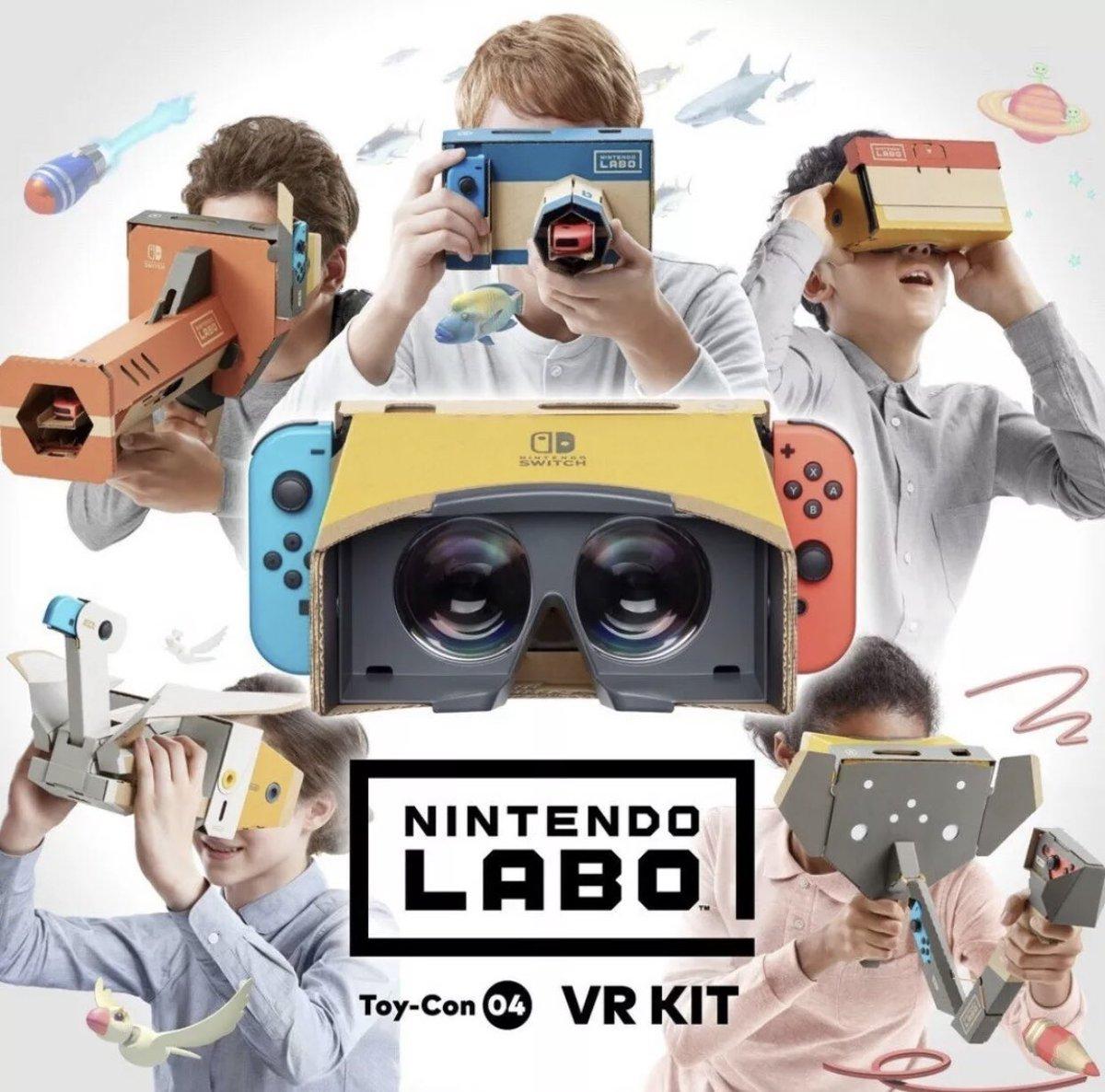 Nintendo Labo VR demonstration on Paul Gale Network