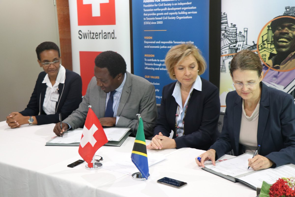 #BreakingNews! Social Accountability Programme3 (SAP3) launched @FCSTZ, @Twaweza_NiSisi and @policy_F to receive Tzs 18bil boost from Switzerland for improvement of accountability in #Tanzania. This is a 4yr programme #CivilSocietyTanzania