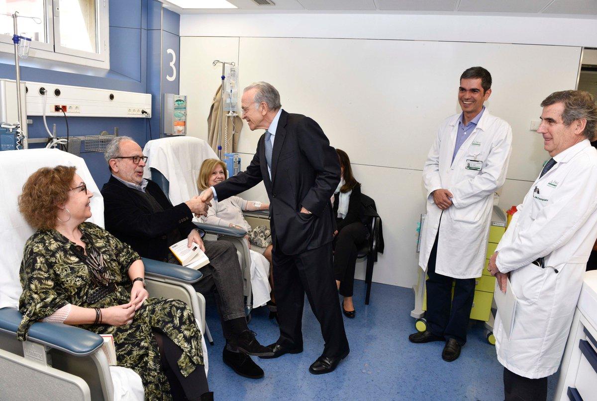 Apostamos por la investigación pionera de gran impacto y la mejora asistencial. Firmamos convenio de colaboración con @hospitalclinic, destinando cerca de 6 millones €, para mejorar la salud de las personas así como la calidad de vida de pacientes y familiares.