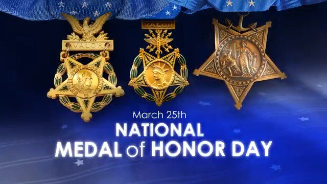 U.S. Dept of Defense's photo on #MedalOfHonorDay