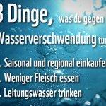 In Deutschland ist ausreichend Wasser vorhanden. Aber weltweit haben über zwei Milliarden Menschen keinen Zugang zu sauberem Trinkwasser. Unser Konsum ist ein Grund dafür. Mehr Infos: https://t.co/303t9EP9Dd #Weltwassertag