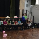 Image for the Tweet beginning: Excellent assembly by 7BE celebrating