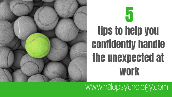 Expect the unexpected: 5 tips to help you confidently handle curveballs in the workplace https://buff.ly/2W8TIj3  #confidence #success