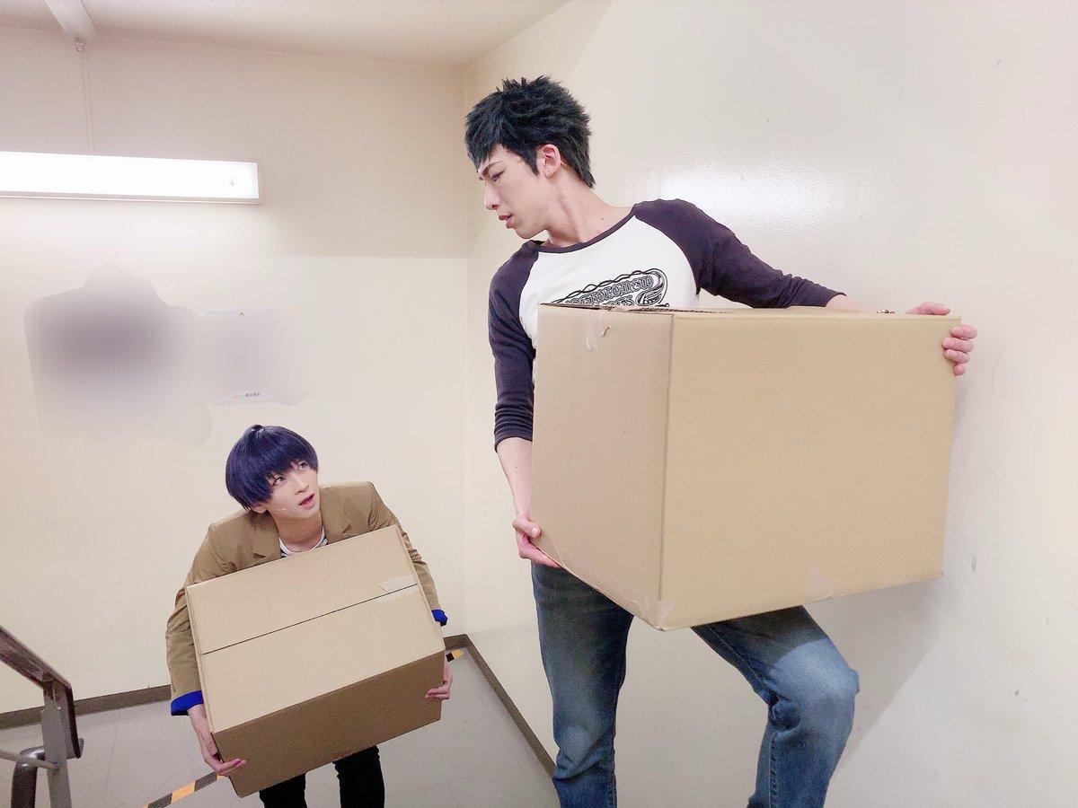 「エーステ 秋冬公演東京凱旋六日目 」 「丞…体力つけろって言ったってこれ、重すぎるよ…もう…だめ……」と顔でかつむぎたすく。