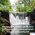 Happy International Water Day! We join the #LeavingNoOneBehind campaign to improve access & management of safe water! Check our projects @Aguamod2016 @InnovecEAU @TWIST04701702 @4KET4Reuse which work to improve our water ressources in Soutwestern Europe #MadewithInterreg