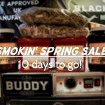 10 more days until our April offer begins!   #AprilOffer #SpringOffer #Offer #CommercialBBQ #SpringSavings #BBQ #Smokers #Deal #HickorySmoke #Restaurants