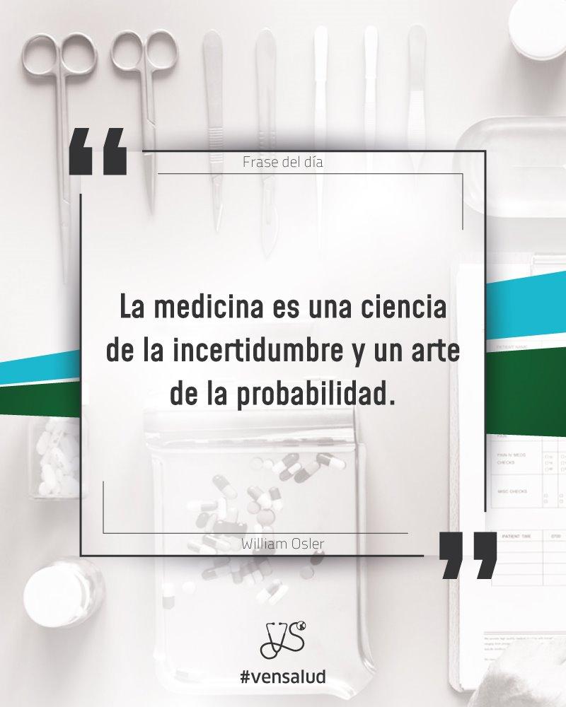 Vensalud Ca On Twitter La Medicina Es Una Ciencia De La