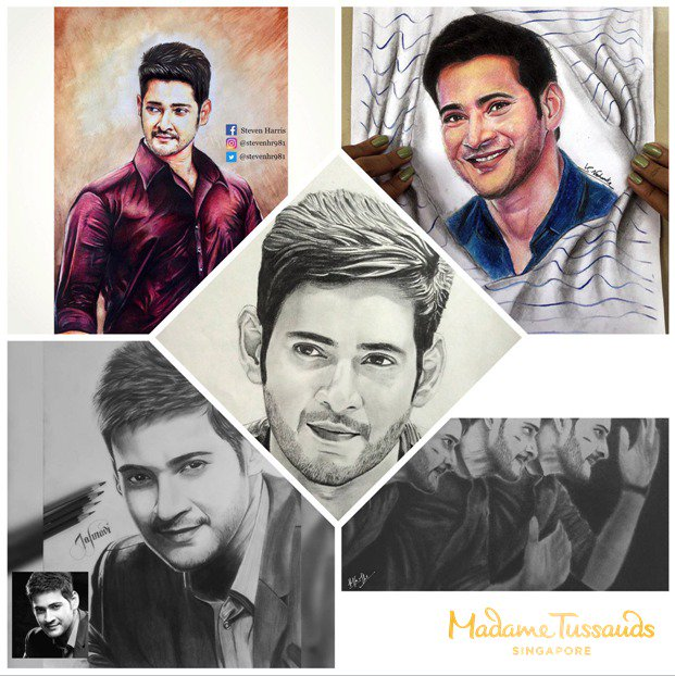 Thank you everyone for your entries! The sketches were great. Winners have been contacted via Instagram direct messages.  We will also be going LIVE on Facebook AND Instagram on 25 March, 11AM (GMT+5.30) as Mahesh Babu unveils his figure! So don&#39;t forget to tune in!<br>http://pic.twitter.com/B7lwkF2CuT