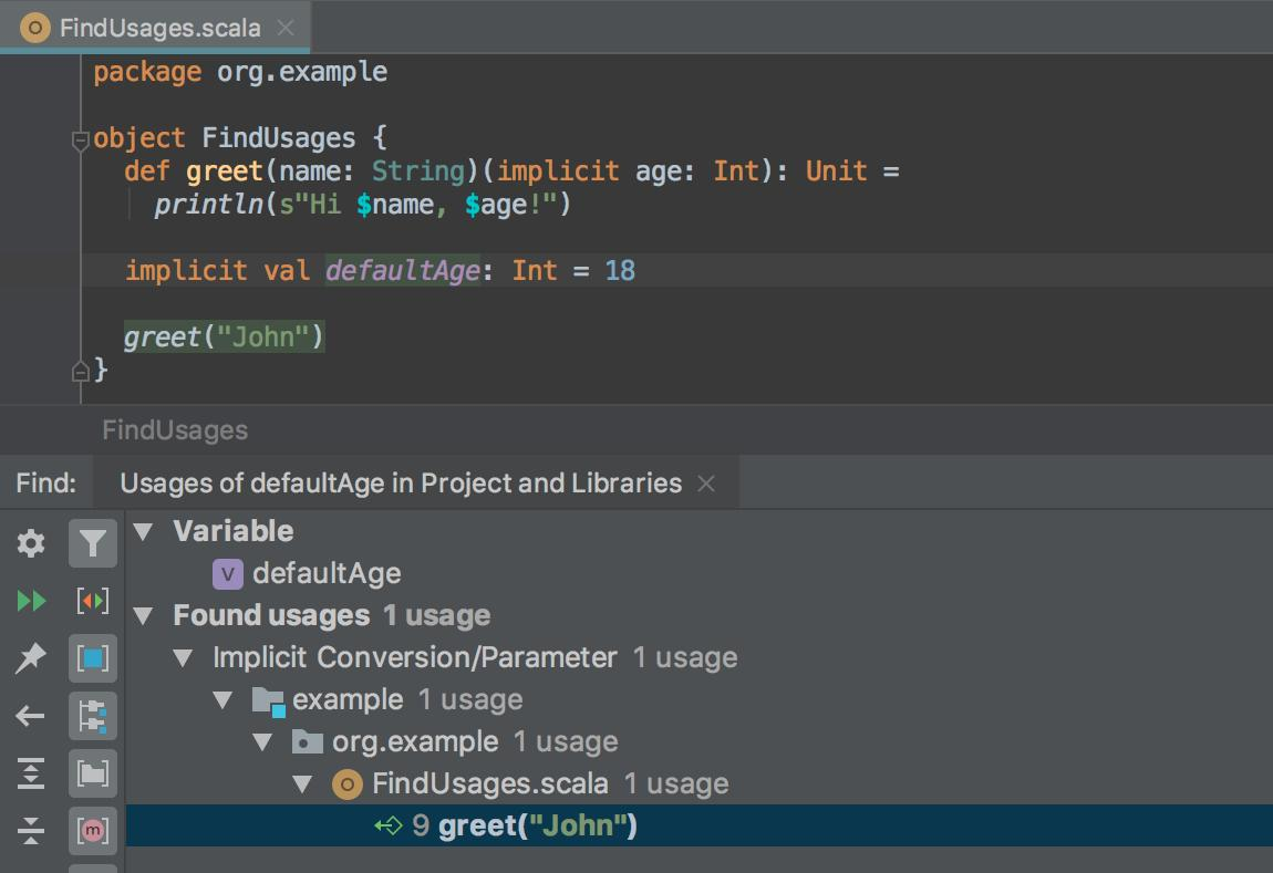 IntelliJ Scala on Twitter: