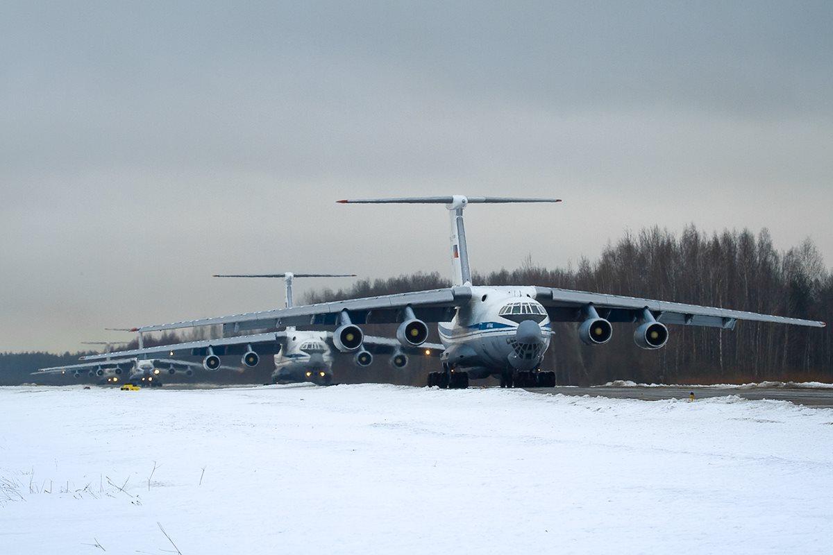 روسيا ستشتري 100 طائره Ilyushin Il-76MD-90A خلال العشره سنوات القادمه  D2QQlFIWwAAbV85
