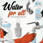Image for the Tweet beginning: Today is #WorldWaterDay. One of
