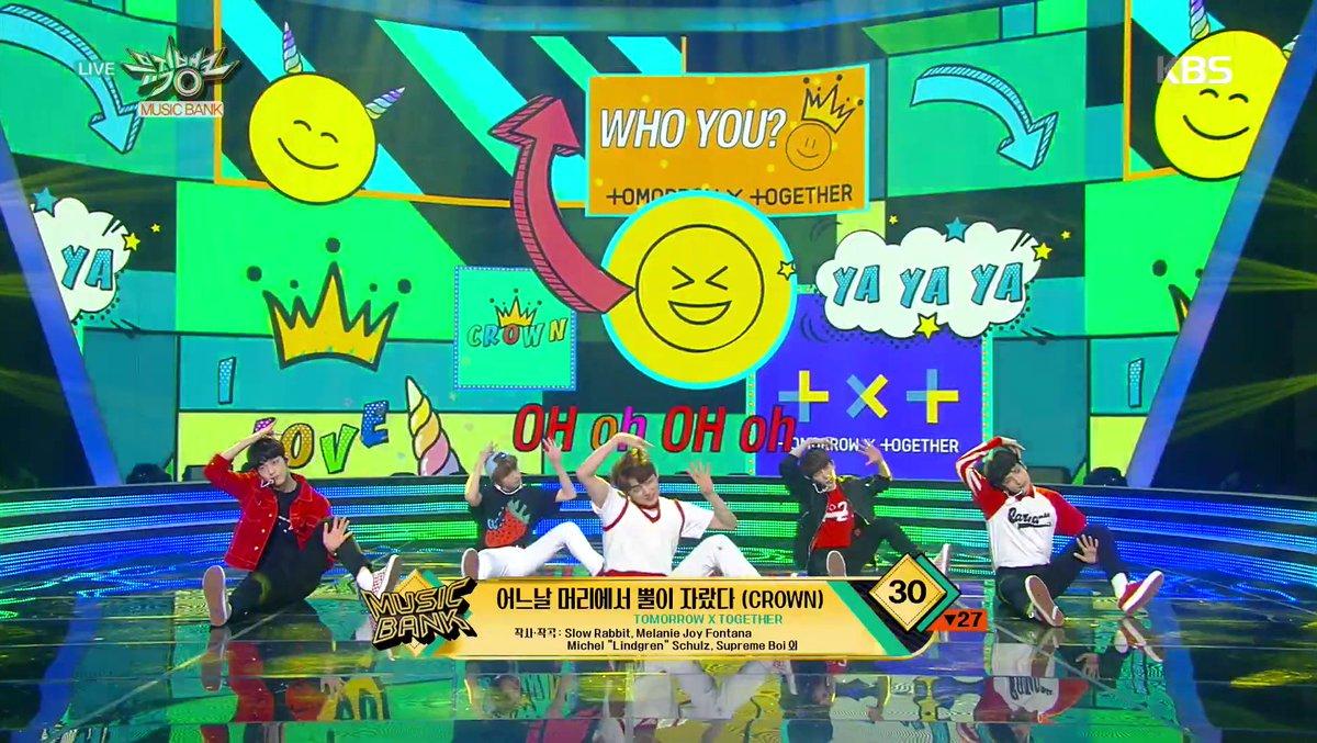 WATCH: #TXT Performs 'CROWN' On 'Music Bank' https://t.co/ewu8yKIkhv https://t.co/EbjYPCeGu9