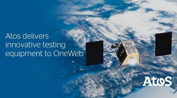 Atos entrega 80 equipos a @Airbus @OneWeb para el lanzamiento de sus primeros 6...