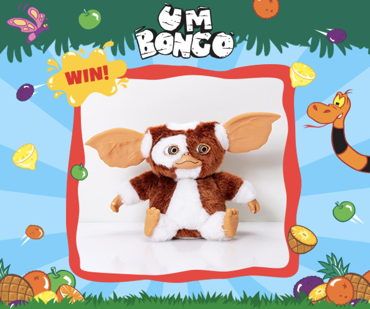 Win a Dancing Gizmo !!!!!  We can barely contain our excitement at this weeks giveaway. It's Gizmo and he dances! For the chance to Win Follow, Retweet & Reply. Closes 1pm on 28/03, UK Only, T&Cs Apply #FreebieFriday