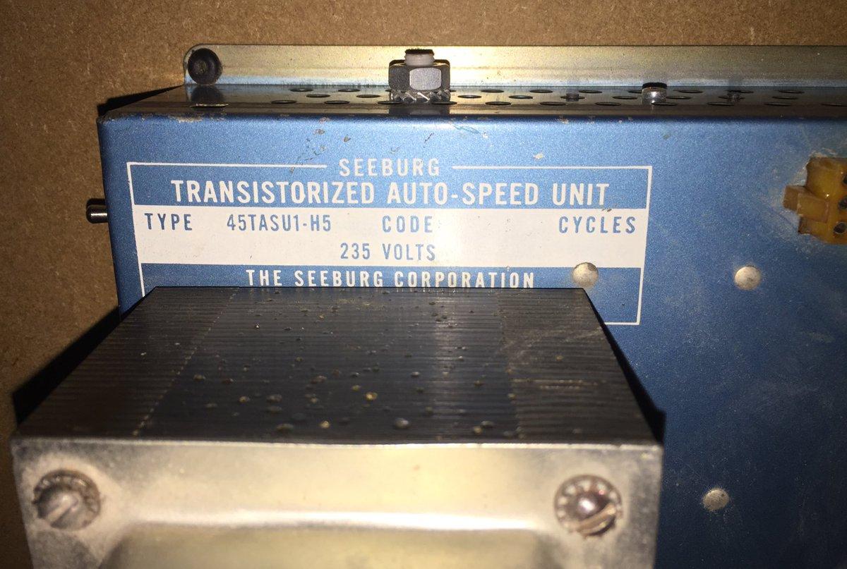 Seeburg Jukebox Mechanism