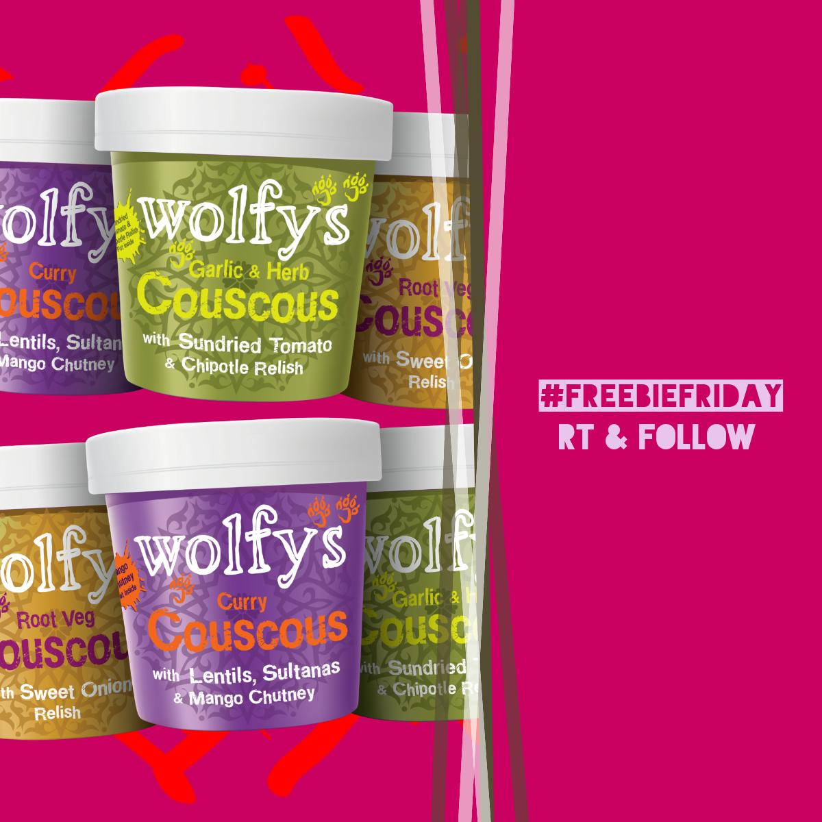 It&#39;s #FreebieFriday!   RT &amp; Follow to win a free Couscous Variety pack! <br>http://pic.twitter.com/Zr5m4URn5R