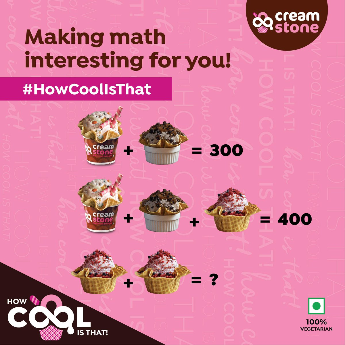 Stay cool &amp; smart this season by eating and solving this interesting puzzle! #creamstone #howcoolisthat #coolandsmart #comment #like #share #tagafriend <br>http://pic.twitter.com/J7GSVY5DSE