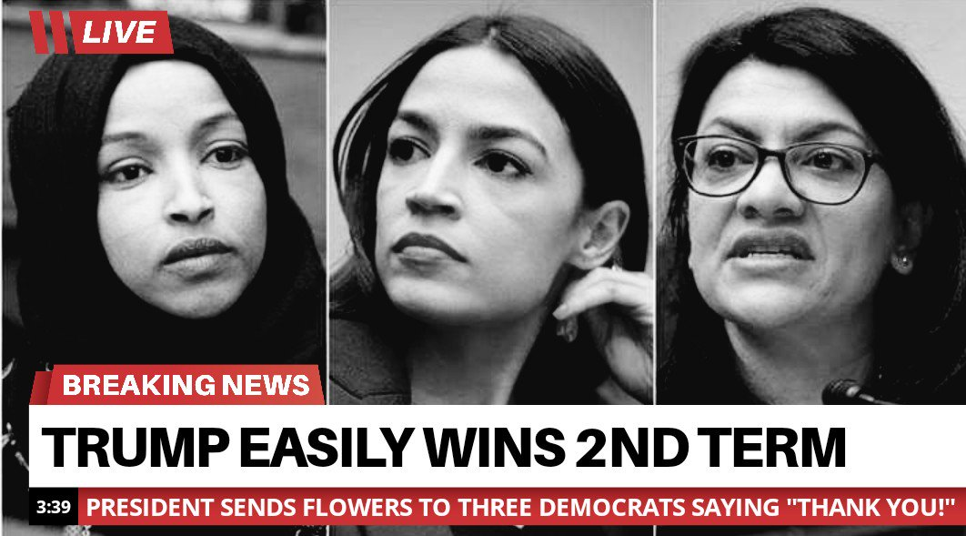 This will be a headline when we wake up November 4th, 2020. Trump&#39;s base is large and it is strong.   Let the tres idiotas speak!   @realDonaldTrump  #MAGA #tcot #FoxNews #FridayFeeling #FridayMotivation #FridayMorning #Election2020<br>http://pic.twitter.com/5GMLSHQ037