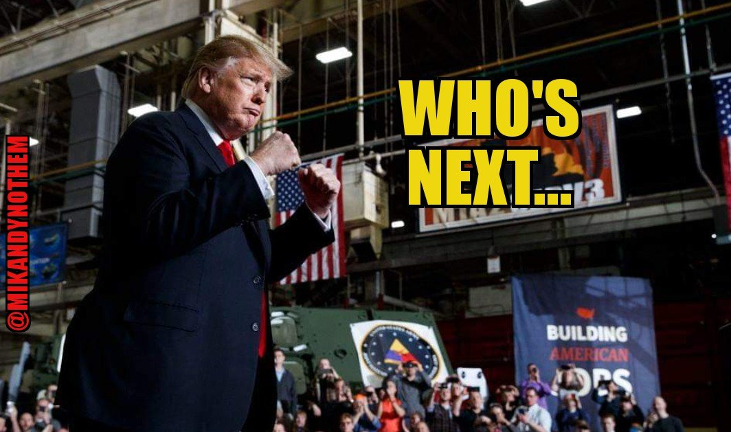 Take on @realDonaldTrump at your own peril. He is a fighter who always wins; especially if your name is Hillary. Bring on #Election2020! #MAGA #tcot #FoxNews  #FridayThoughts #fridaymorning #FridayMotivation<br>http://pic.twitter.com/eL6mpEn1Xb