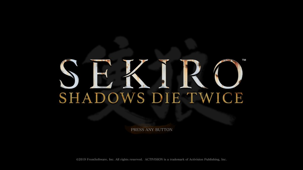 test Twitter Media - Happy #SekiroShadowsDieTwice day! How's everyone getting along with @sekirothegame so far? https://t.co/51X92LbCeh