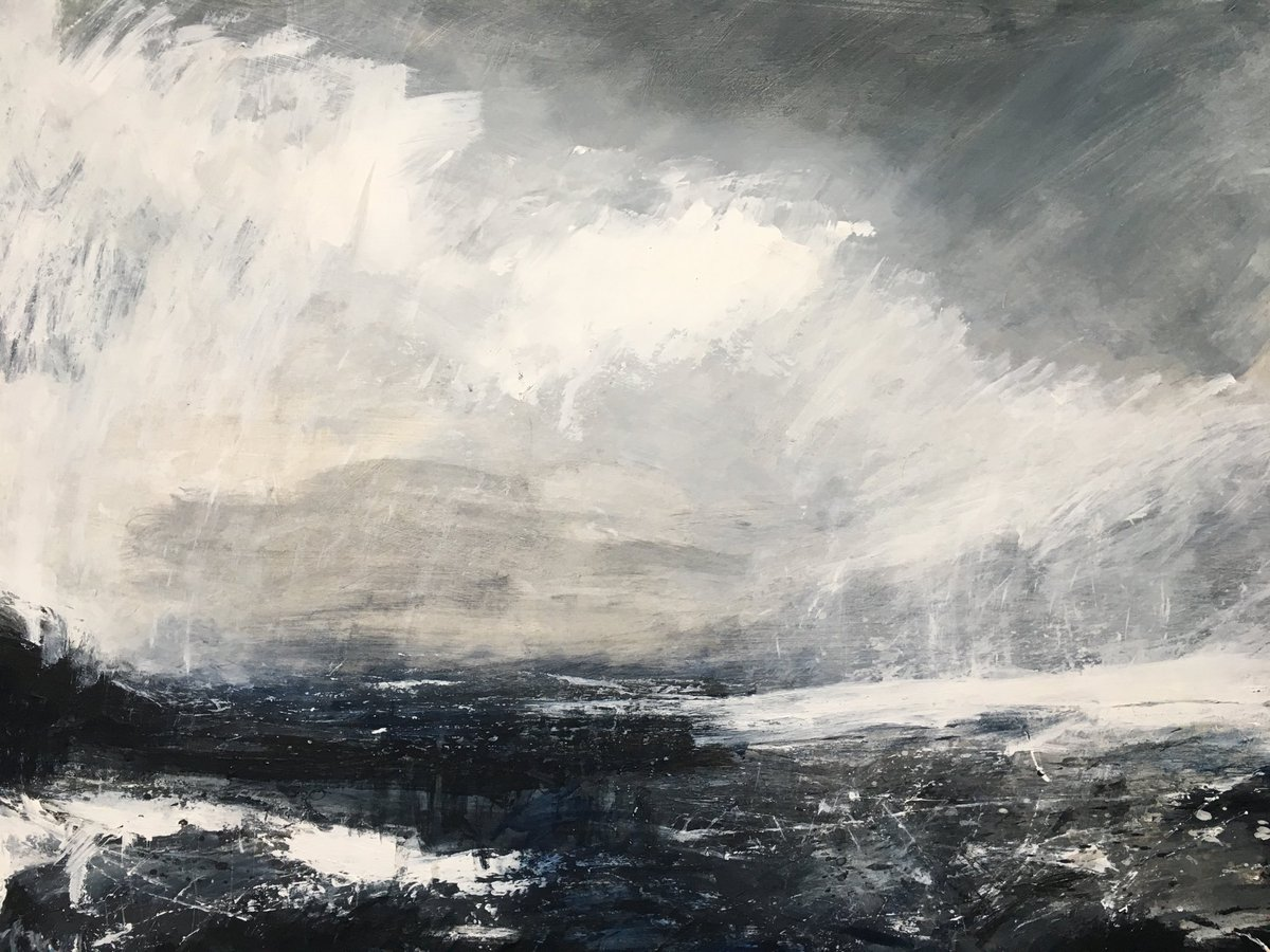 Work still available at Moorwood Art , Bruton ⁦@MoorwoodArt⁩ until 28th March #paintings #seascapes #Somerset #bruton<br>http://pic.twitter.com/lL8vRkpE97