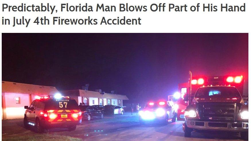 The Florida Man Challenge