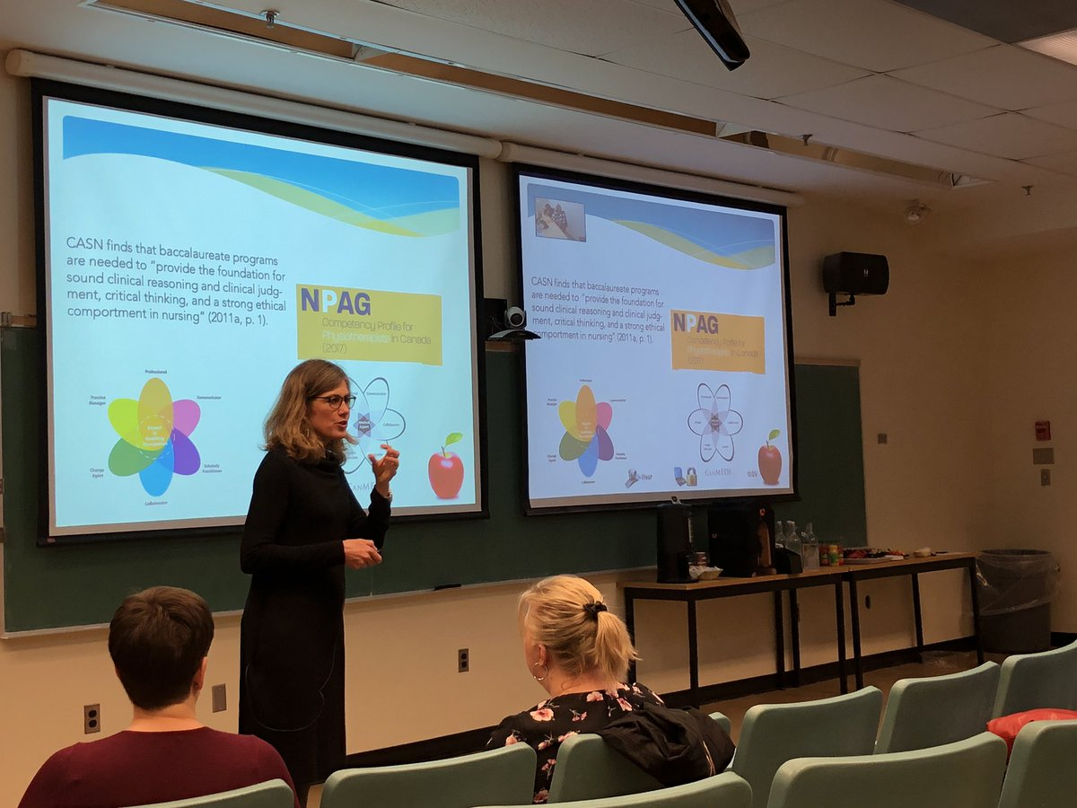 test Twitter Media - Dr. Donnelly @cathfrymire presenting on how different health science professions define clinical reasoning. Can you spot our friends at @providence_care being streamed in? https://t.co/nFZjVyq00w