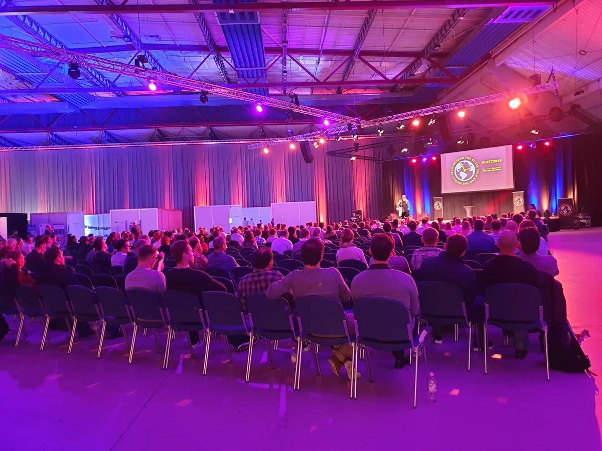 Hier ein Paar Fotos von der @24hoursLEAN Messe in Mannheim. Wir haben gute Momente und haben tolle Menschen kennengelernt #LATC2019