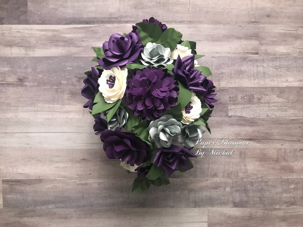 So excited to share this elegant cascade #bridal #bouquet! Find more #paperflowers here:  http://www. paperblossombymichal.etsy.com  &nbsp;   #wedding #weddinginspo #weddinginspiration #handmade #HandmadeHour #ArtistOriginals #ArtistOnTwitter<br>http://pic.twitter.com/ndDZYtsHpT