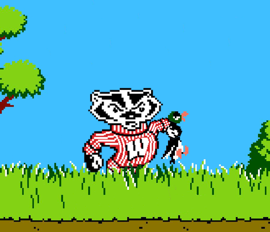 These are today's Marching orders, @BadgerMBB:  Let's go on a duck hunt.  #OnWisconsin | #BeatOregon<br>http://pic.twitter.com/S7JwWH1pLr