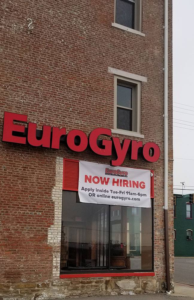 Eurogyro Salem Ohio : Pizza pitas, i mean, who has that?eurogyro's depth in mediterranean flavors combined with decades of experimentation and imagination gives us.