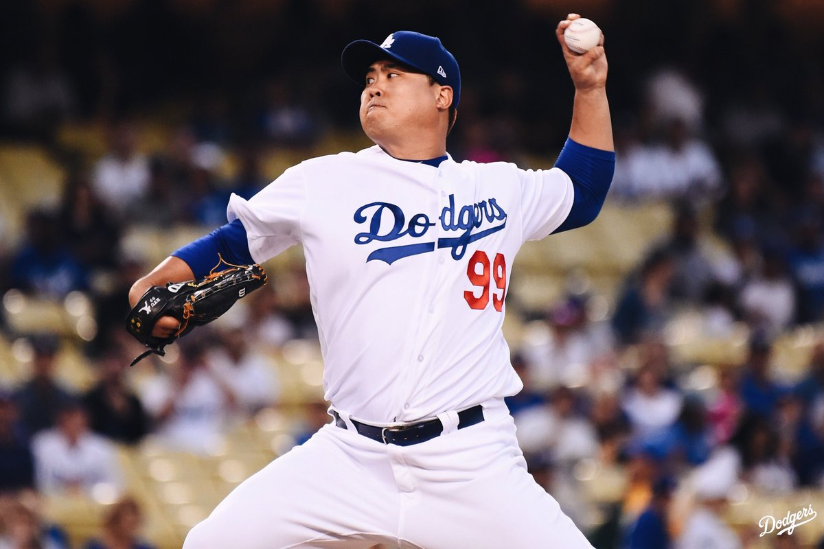 .@HyunJinRyu99 will be the #OpeningDay starter.